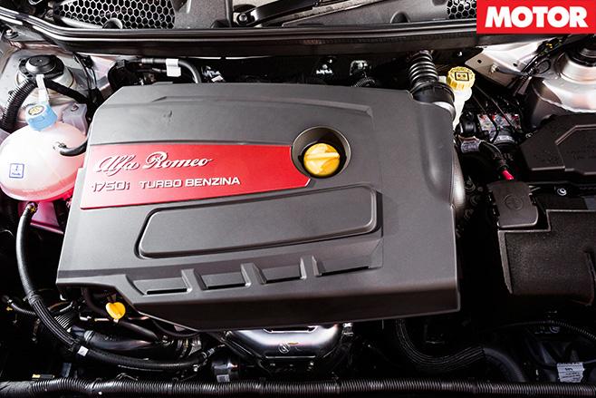 Alfa Giuletta QV engine