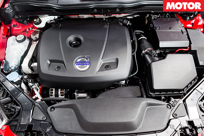 Volvo V40 engine