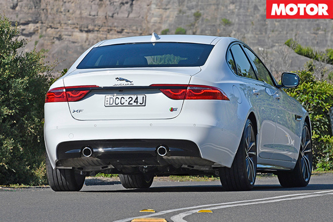 Jaguar -XF-rear
