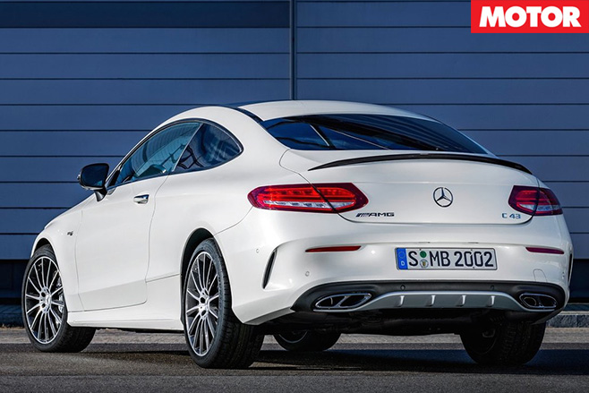 Mercedes -AMG-C43-Coupe -revealed -rear