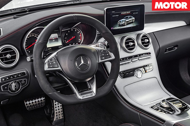 Mercedes-AMG C43 Coupe interior