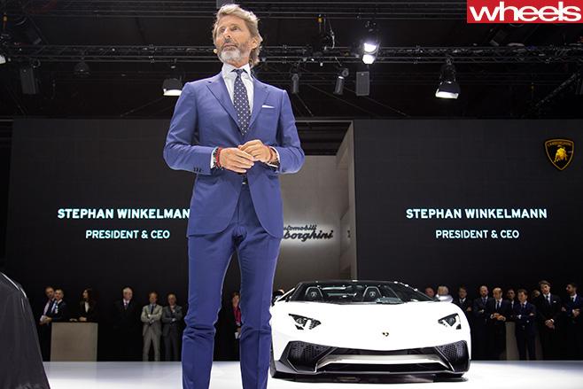 Lamborghini -with -Stefan -Winklemann