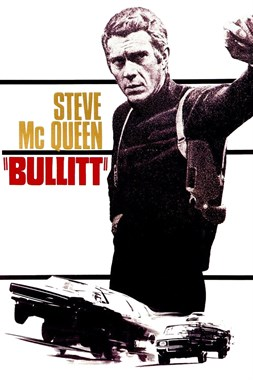 Bullit 1968 Movie Cover