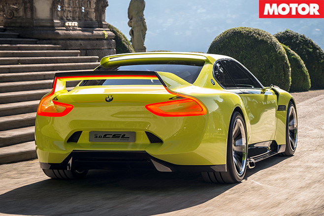 BMW CSL Hommage Concept rear