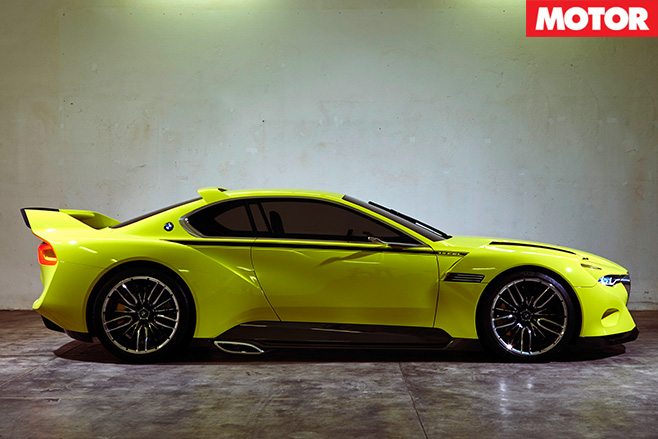 BMW CSL Hommage Concept side