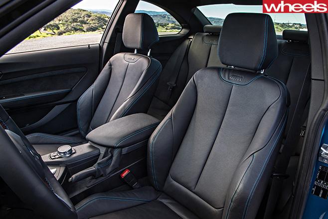 BMW-M2-front -seats