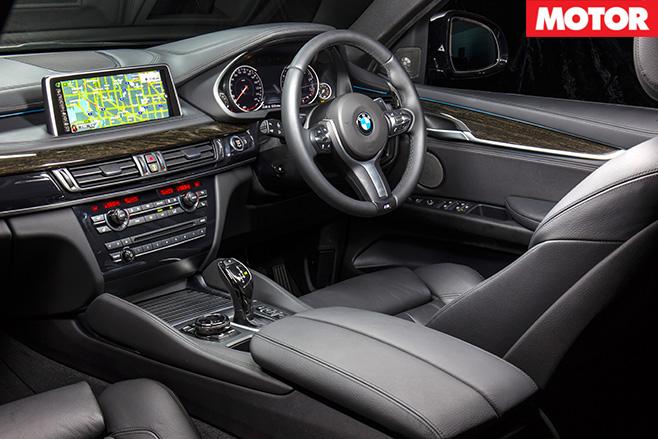 BMW X6 50i interior