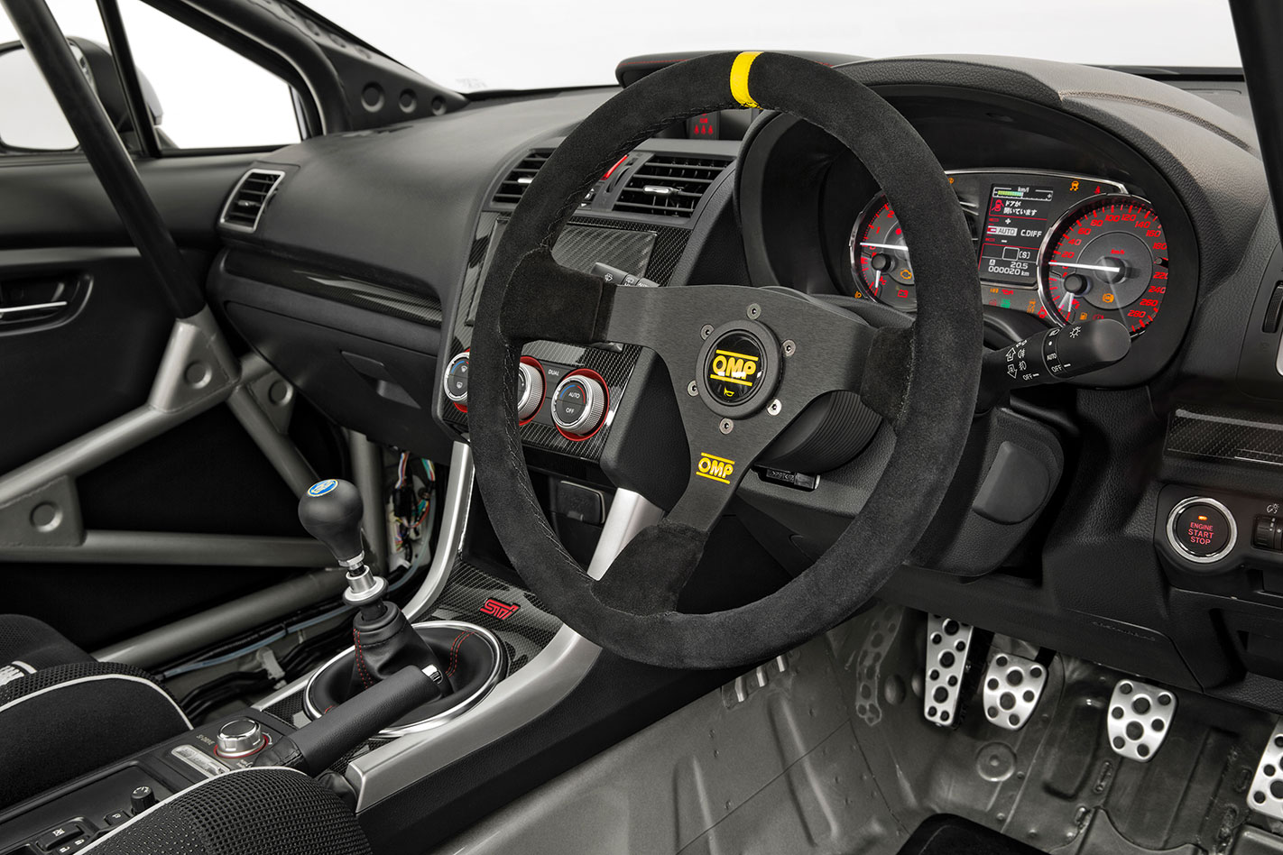 Subaru -rally -return -interior
