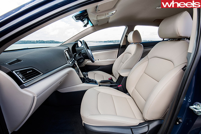 Hyundai -Elantra -front -side -interior