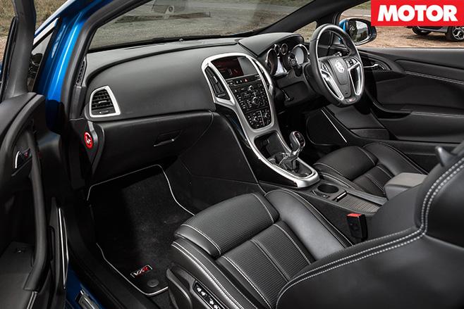 Holden astra interior