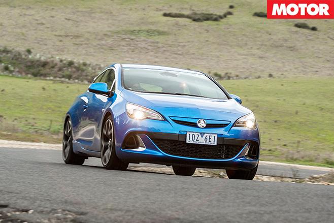 Holden astra vxr driving