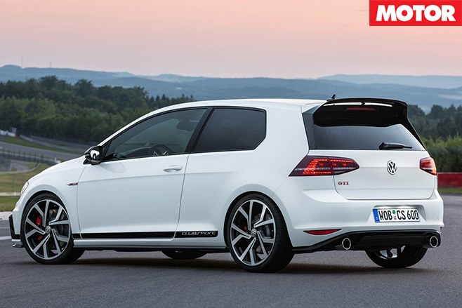 Volkswagen Golf GTI 40 years rear