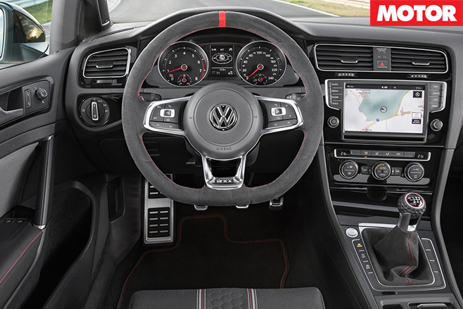Volkswagen -Golf -GTI 40 years interior