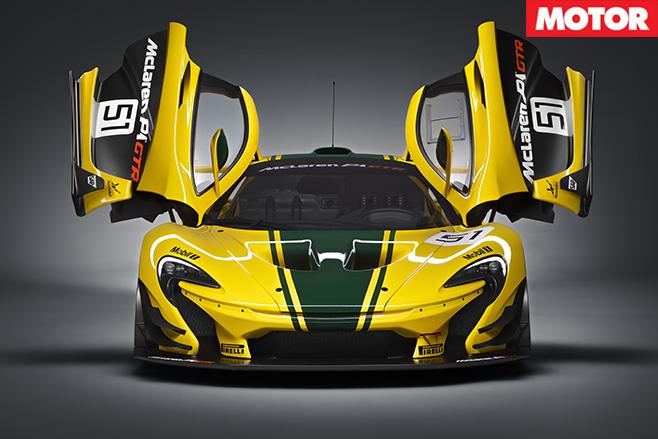 McLaren P1 GTR fold up doors