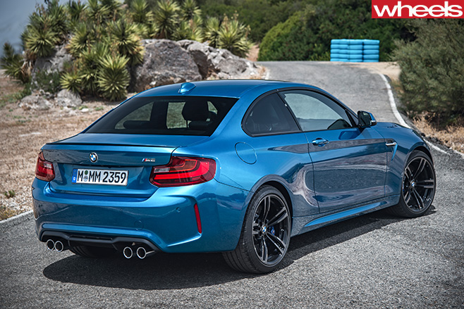BMW-M2-Coupe -rear