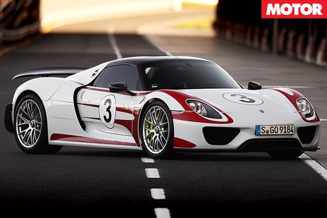 Porsche 918 Spyder still