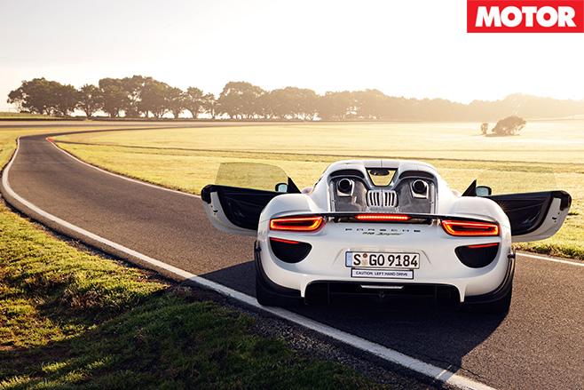 Porsche open doors