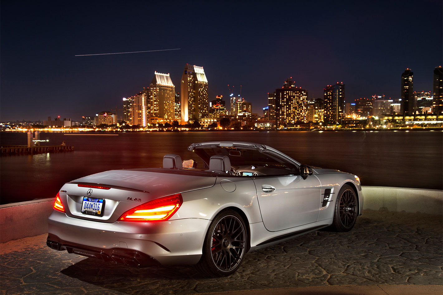 Mercedes -AMG-SL63-review -rear