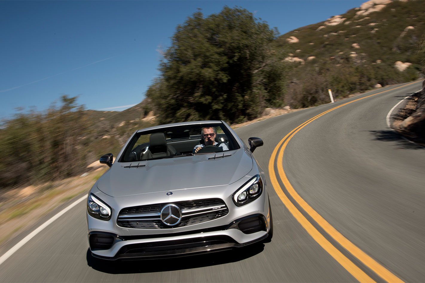 Mercedes -AMG-SL63-review -action