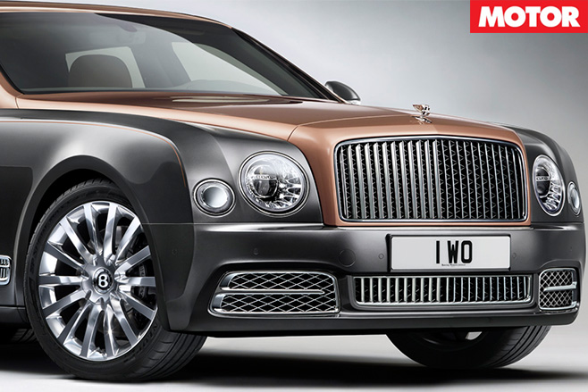 Bentley -Mulsanne -Extended -Wheelbase -front