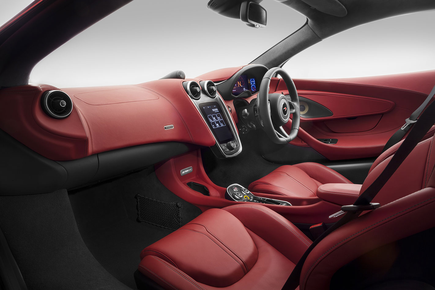 Mc Laren -570GT-interior