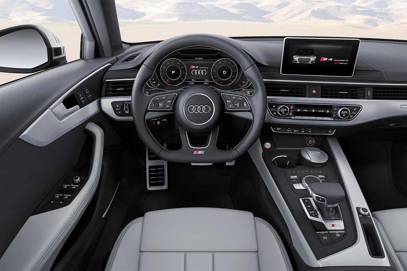 Audi -S4-Avant -interior