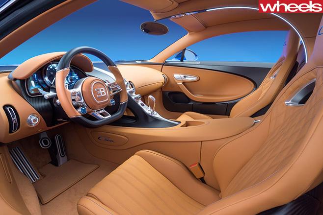 Bugatti -Chiron -interior
