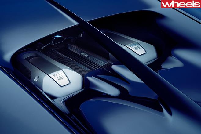 Bugatti -Chiron -Engine