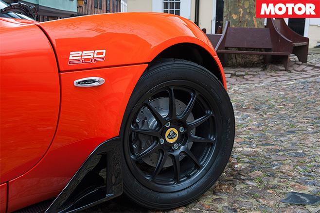 Lotus Elise Cup 250 wheel