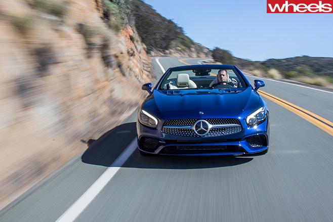 Mercedes -SL500-front