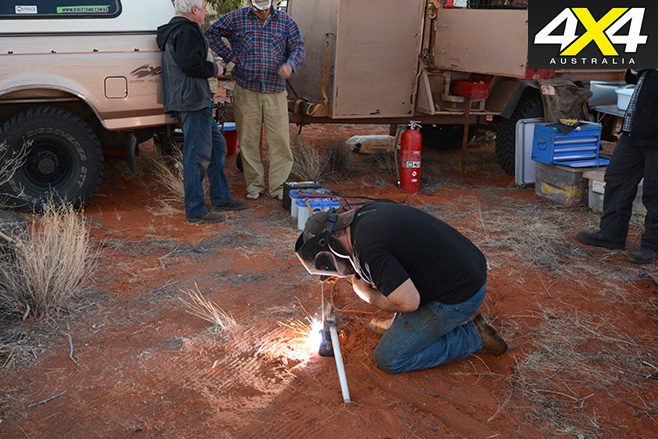 Bush welding