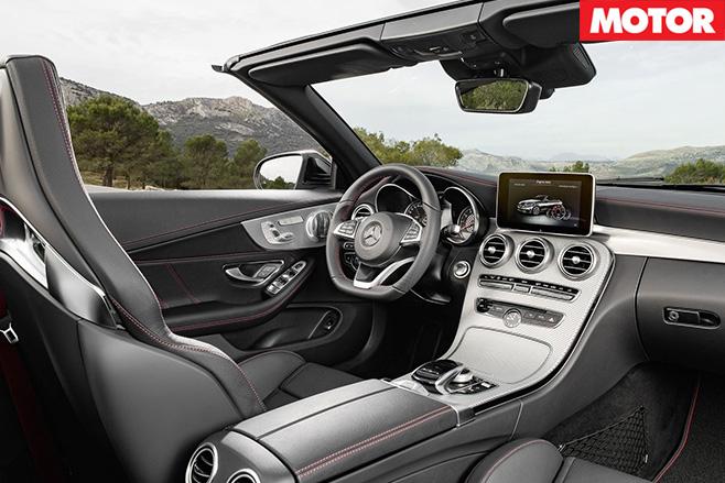 Mercedes-AMG C43 Cabriolet interior