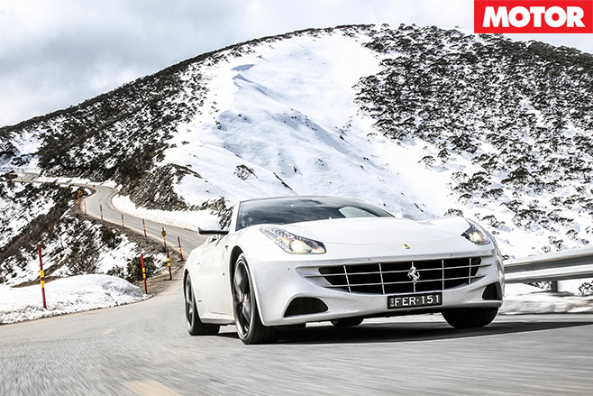 FF-driving through alpine region
