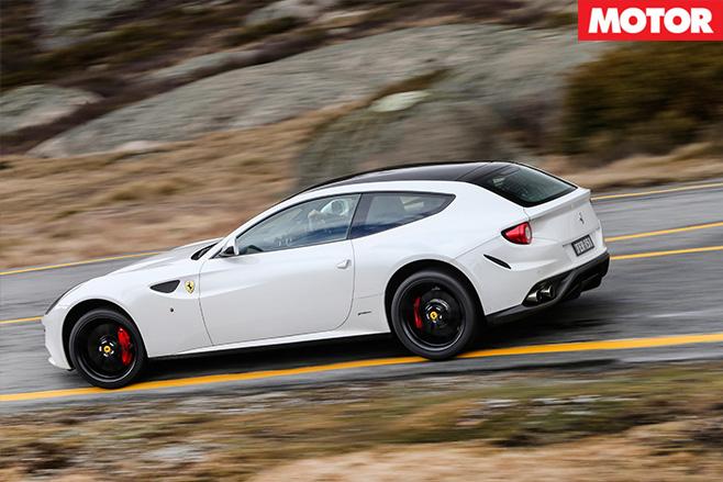Ferrari awd system