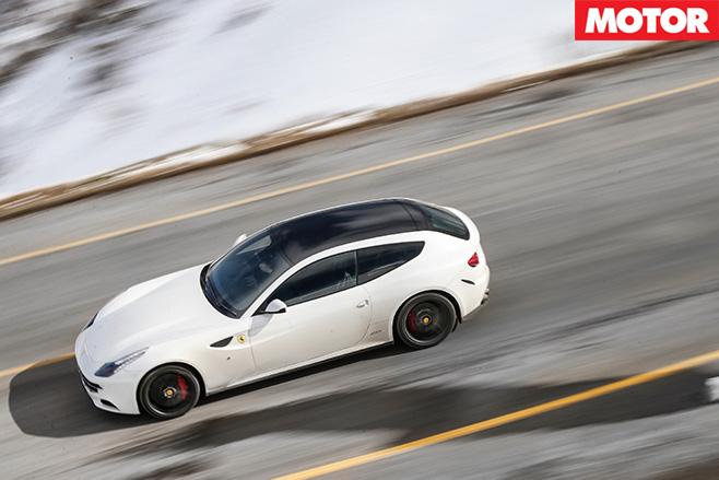 Ferrari top view