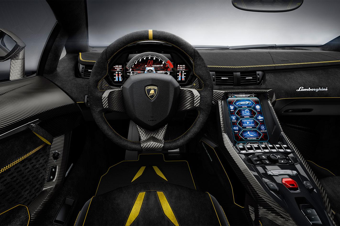 Lamborghini -Centenario -interior