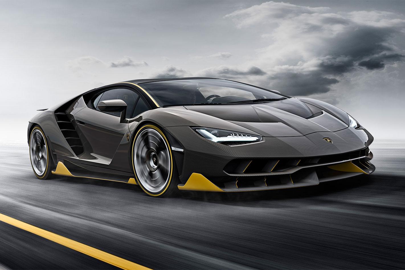 Lamborghini -Centenario -action