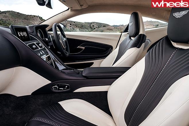 Aston -Martin -DB11-interior -front -seats