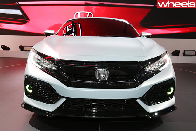 Honda -Civic -Hatch -front