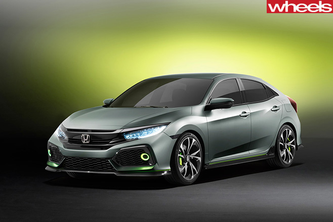 Honda -Civic -Concept -front -side