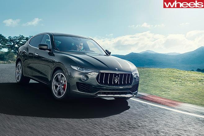 Maserati -Levante -driving