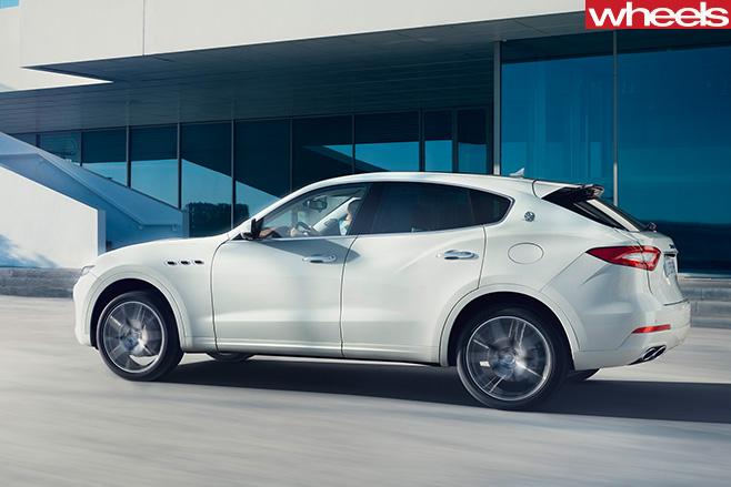 Maserati -Levante -white -side