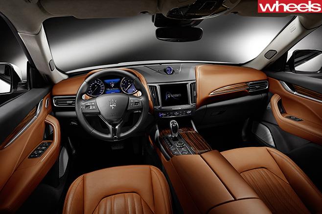Maserati -Levante -interior
