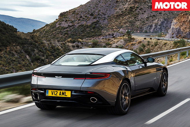 Aston martin db11 rear