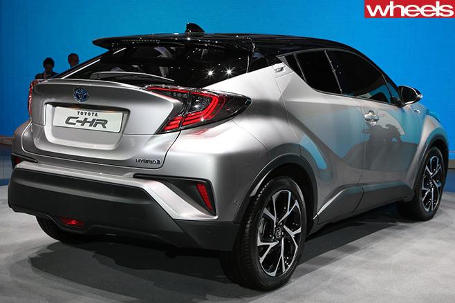 Toyota -Ch -R-rear -side
