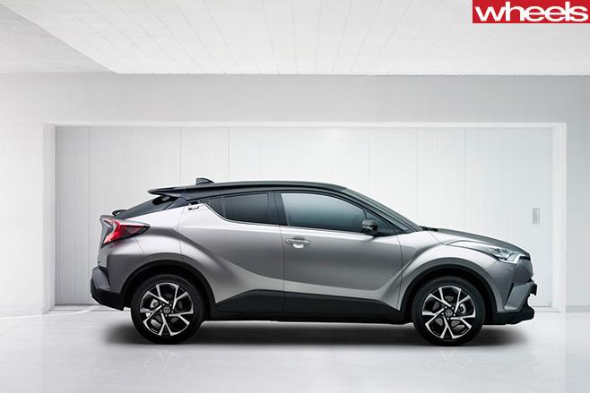 Toyota -Ch -R-side