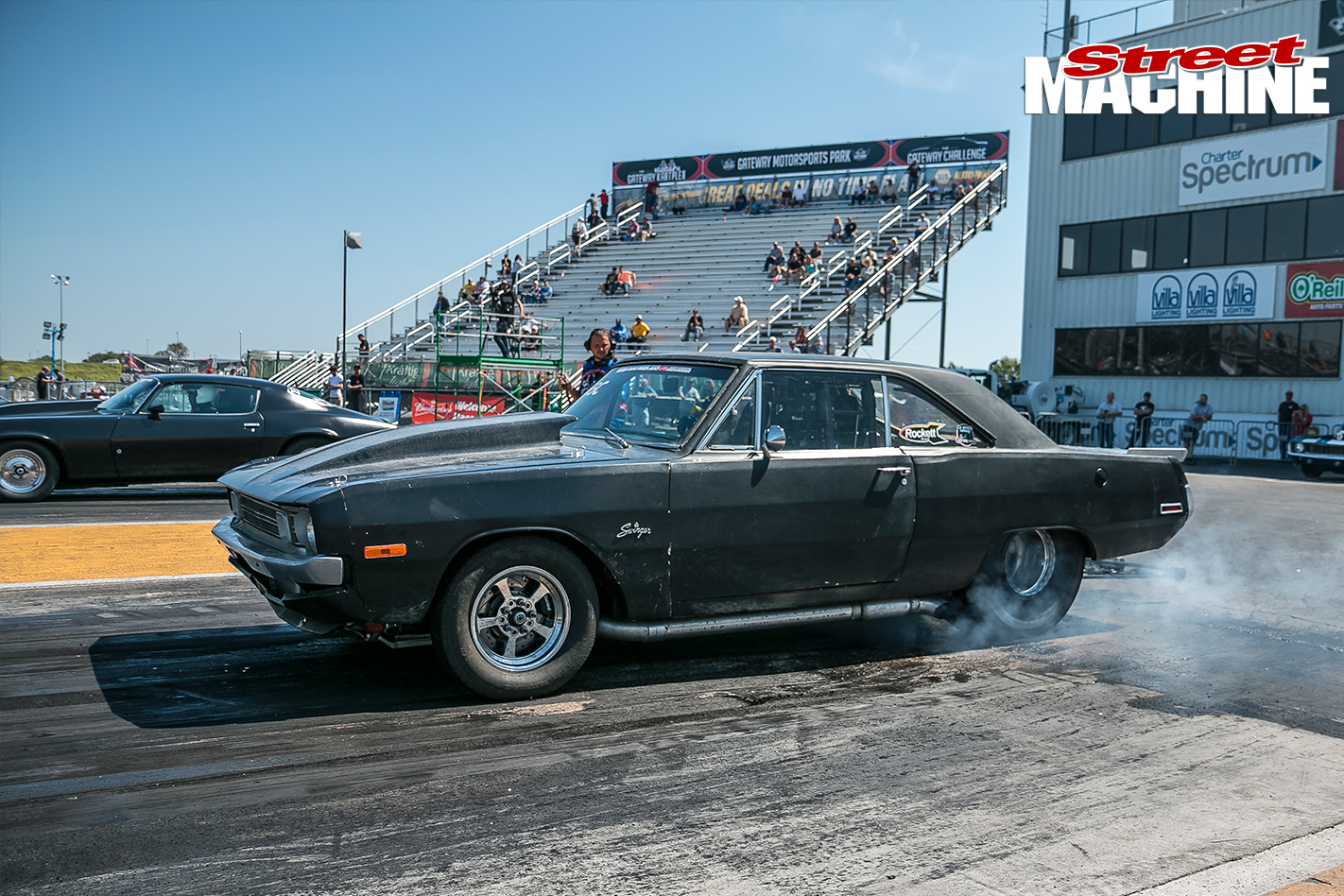 Dodge -dart -1422-burnout