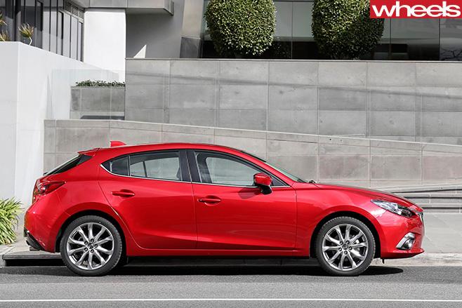 Mazda 3-side