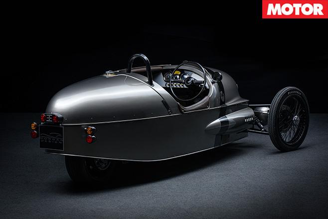 Morgan EV3 rear