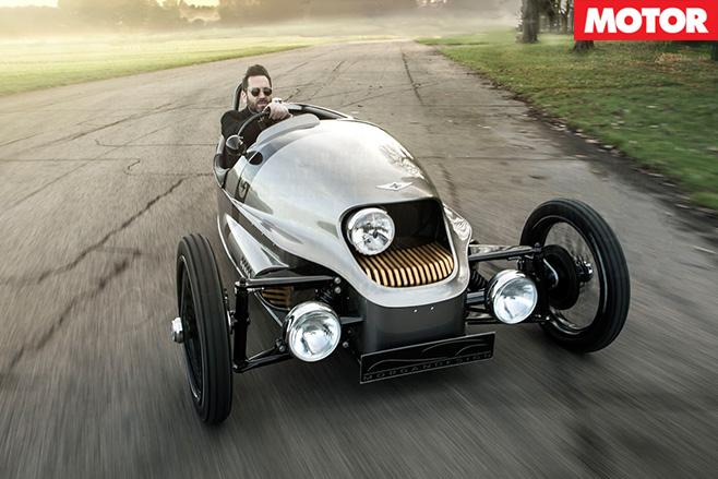 Morgan EV3 driving